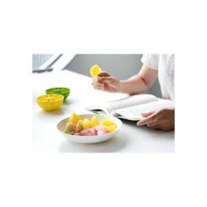Lemon Shape Ice Cream Tray