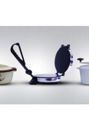 Instant Roti Maker + Atta Kneader + Casserole