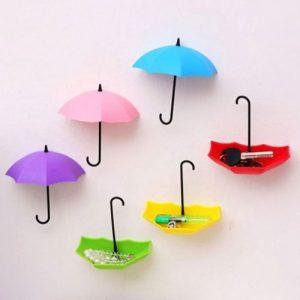 3 Pcs Umbrella Wall Storage Holder