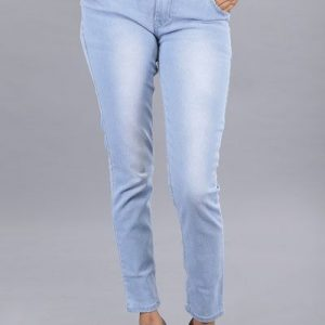 Wavelength Women Washed Light Blue Jeans