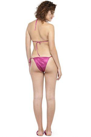 Magenta Color Women'S 8 Pcs Nightwear Set With Footwear