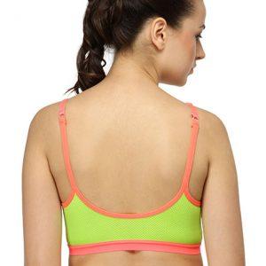 Yellow Color Women's fitness Sports Bra