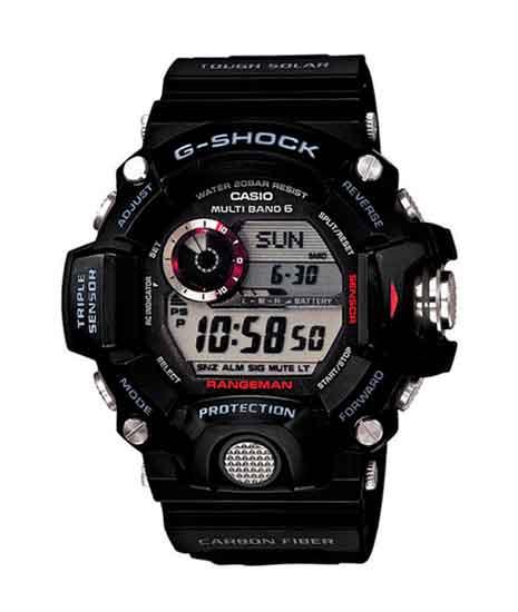 Casio G485 G-Shock Gw-9400-1 Black Digital Resin Gents Wrist Watch