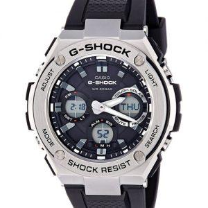 Casio G-Shock Analog-Digital Black Dial Men'S Watch-Gst-S110-1Adr (G609)