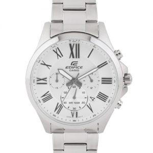 Casio Edifice Men Silver Analogue Watches (Ex318) Efv-500D-7Avudf