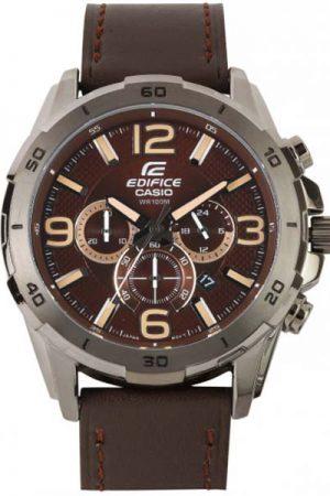 Casio Edifice Men Brown Analogue Watches (Ex184) Efr-538L-5Avudf