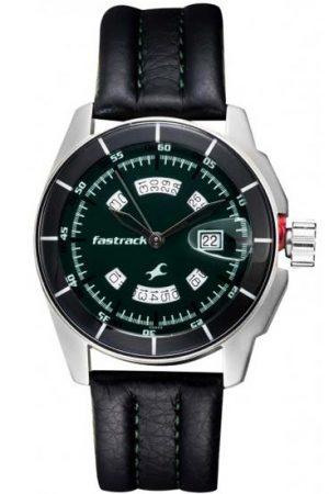 Fastrack 3089Sl03 Black Magic Analog Watch For Men