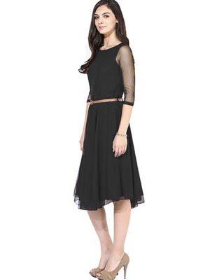 Exclusive Designer Black Dress