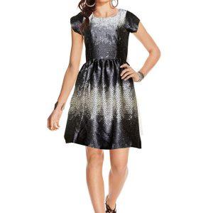 Exclusive Designer Print Dress