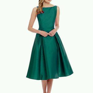 Designer Green Dress