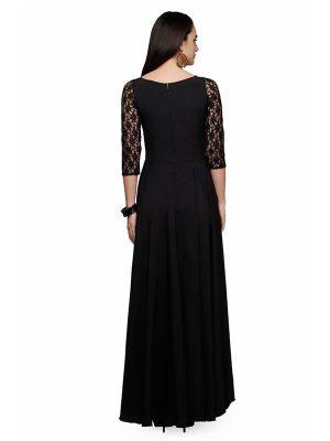 Designer Maroon Gown (Long Dress)