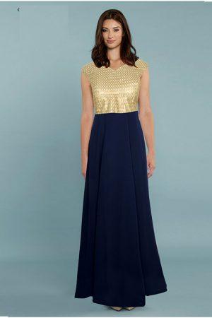Exclusive Designer Blue Gown