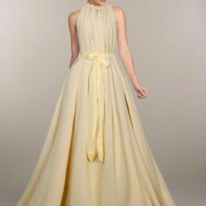 Exclusive Designer Dyna Cream Gown
