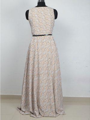 Exclusive Designer Pepe Leopard Gown