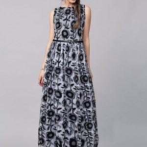 Exclusive Designer Cooper Black Gown