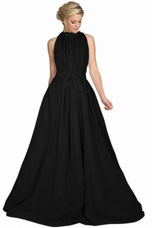 Exclusive Designer Dyna Black Gown
