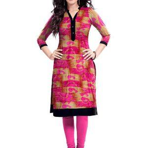 Exclusive Designer Pink Kurti