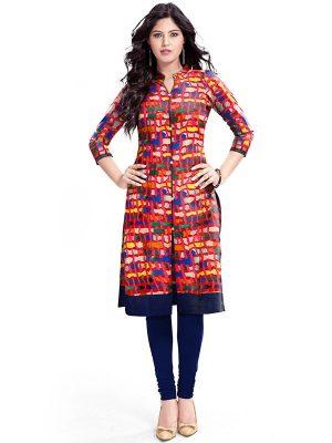 Exclusive Designer Red Kurti