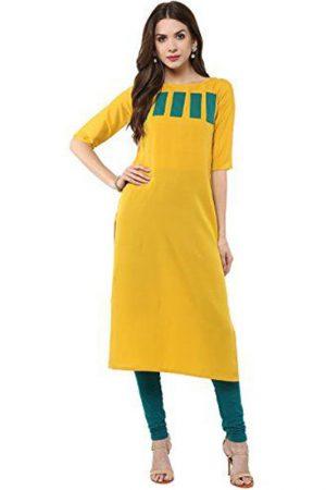 Exclusive Designer Yellow Kurti