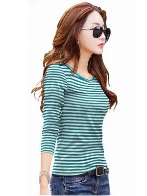 Green Knitting Exclusive Designer Top