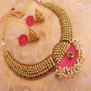 Lovely Multi-Color Antique Necklace Set