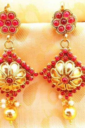 Pink Kemp Earrings