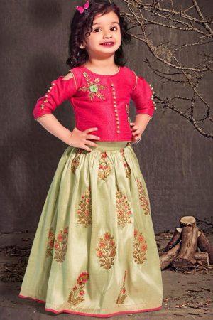 Aqua Pista Color Malbari Silk Embroidered Work Gown