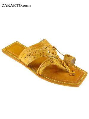 Classic Kolhapuri Design , Leather Women Sandal