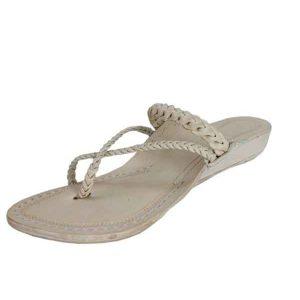 Braided Platform Heel Ladies Chappal