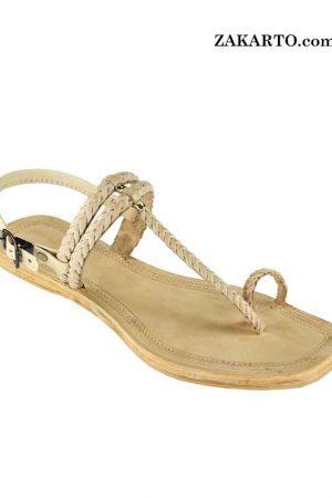 Designer'S Exclusive Kolhapuri Leather Sandal