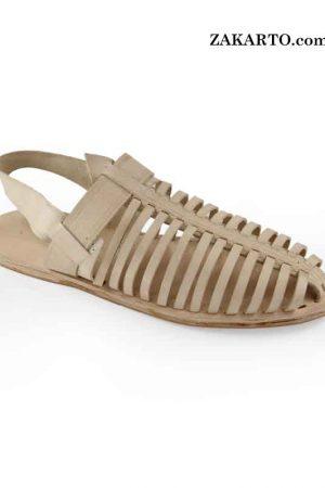 Spectacular Natural Kolhapuri Leather Shoe For Men