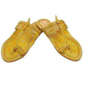 Outstanding Flat Heel Punching Ladies Kolhapuri Chappal