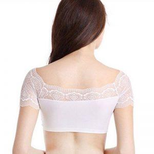 White Colour Cotton Lycra Plain Stitched Blouse