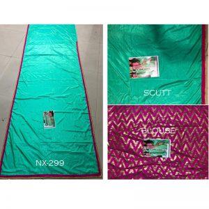 Buy Silk Rama Green Bollywood Replica Saree