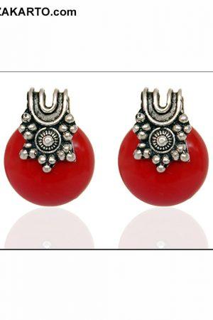Red color Big Jhumka