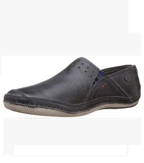 Slagron Blue Nappa Casual Shoes