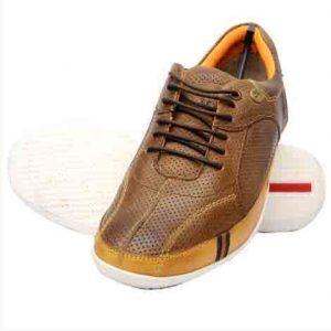 Conrado Brown Leather Casual Shoes
