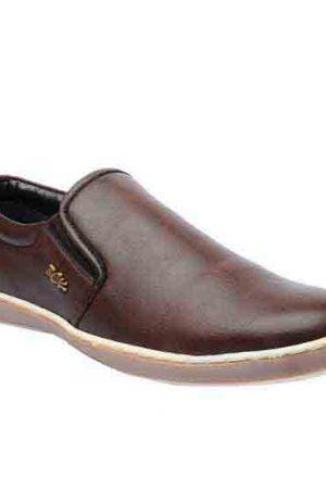 Brad Brown Pu Casual Shoes