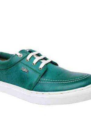Acosta Green Pu Casual Shoes