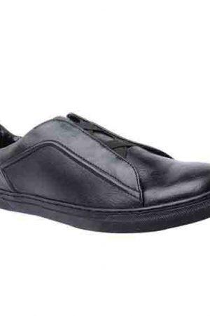 Logan Black Pu Casual Shoes