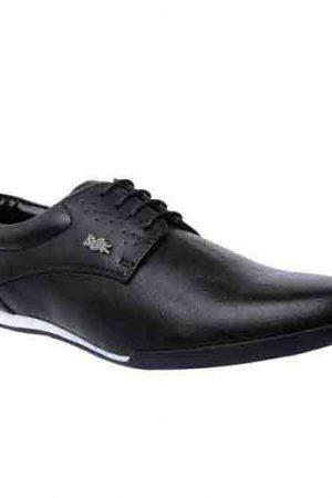 Mason Black Pu Casual Shoes