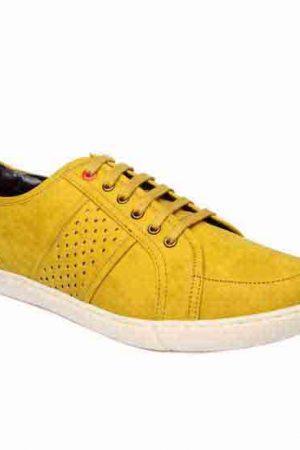 Zion Tan Fabric Casual Shoes