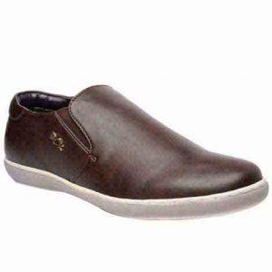 Morgan Coffee Fabric Casual Shoes