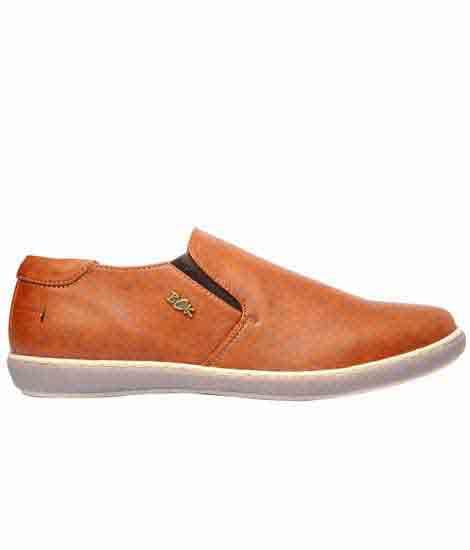 Morgan Brown Fabric Casual Shoes