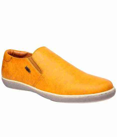 Morgan Tan Fabric Casual Shoes