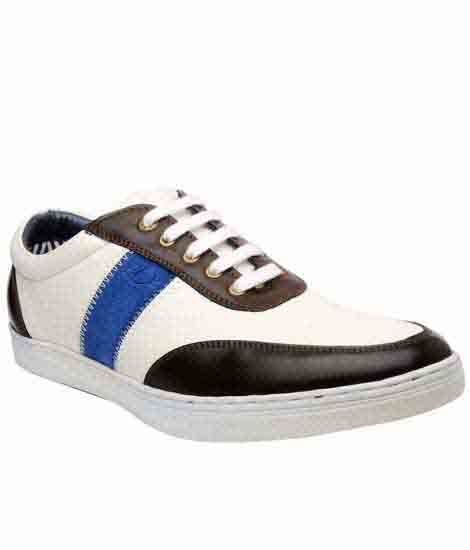Castel Brown Pu Casual Shoes