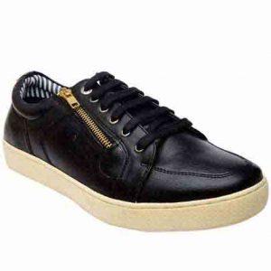 Hanley Black Pu Casual Shoes