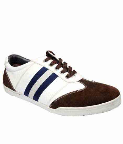 Jadiel Brown Pu Casual Shoes