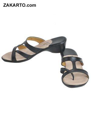 Freya Women's Classy Sandal Slippers - Black