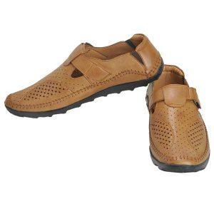 Ajanta Men's Casual Shoes - Tan